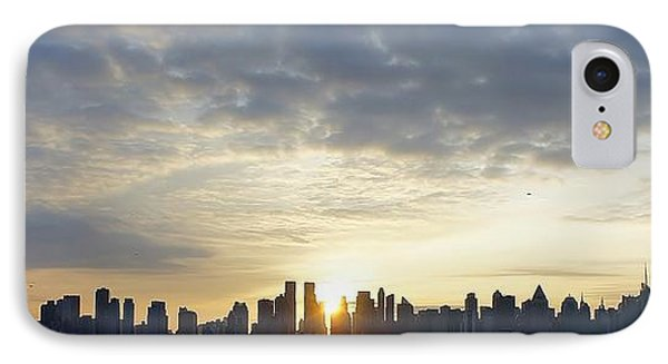Nyc Sunrise Panorama IPhone Case