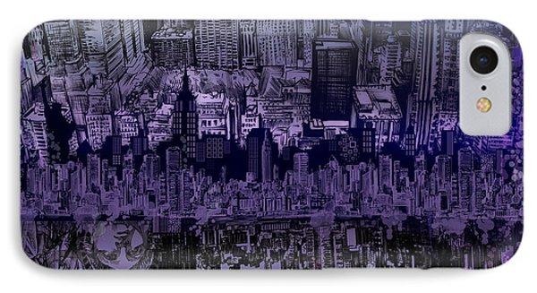 Nyc Tribute Skyline IPhone Case