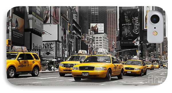 Nyc Yellow Cabs - Ck Phone Case by Hannes Cmarits