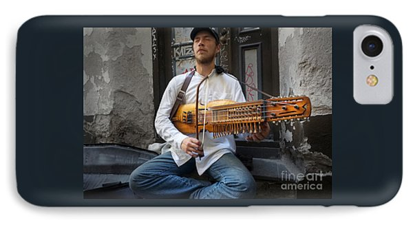 Nyckelharpa Player Of Estonia IPhone Case