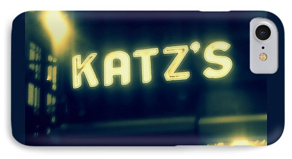 Nyc's Famous Katz's Deli IPhone Case by Paulo Guimaraes