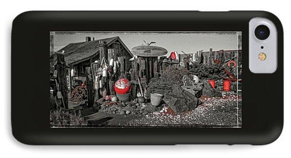 Nye Beach Bums Seaweed Bungalows IPhone Case by Thom Zehrfeld