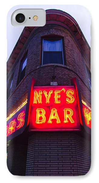 Nye's Bar By Day IPhone Case by Heidi Hermes