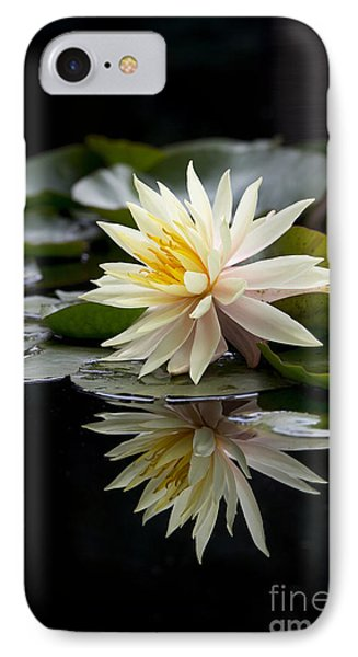 Nymphaea Maria And Reflection IPhone Case