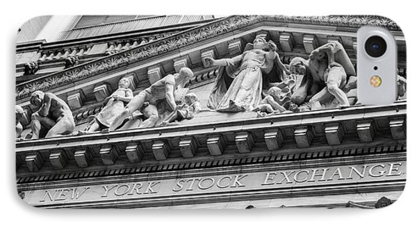 Nyse IPhone Case by Jerry Fornarotto