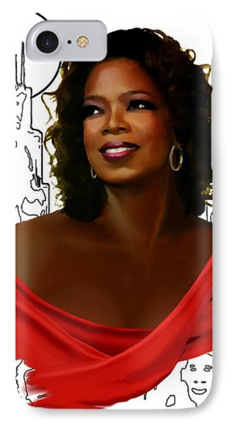 O Town Oprah IPhone Case by Jann Paxton