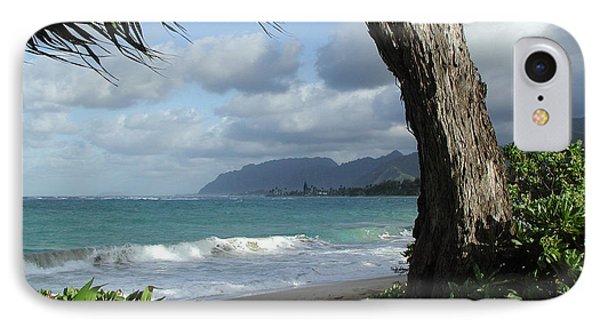 Oahu Coastline IPhone Case by John Norman Stewart