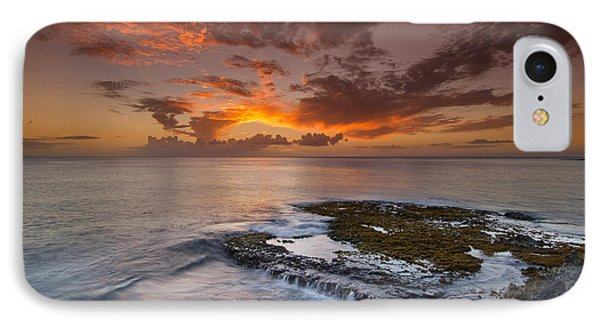 Oahu Sunset IPhone Case