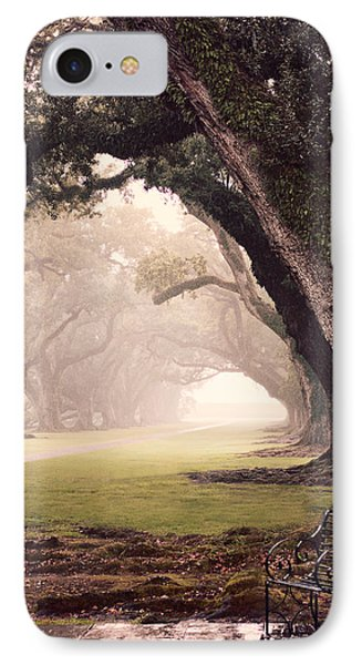 Oak Alley IPhone Case by Maria Robinson
