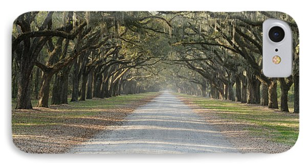 IPhone Case featuring the photograph Oak Avenue by Bradford Martin
