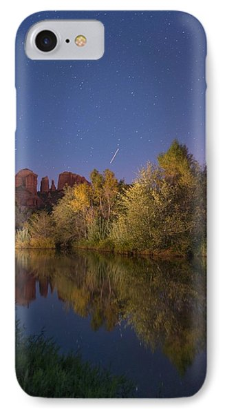Oak Creek At Night IPhone Case