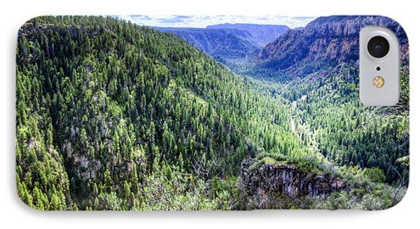 Oak Creek Canyon Road IPhone Case
