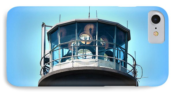 Oak Island Lighthouse Beacon Lights IPhone Case by Sandi OReilly