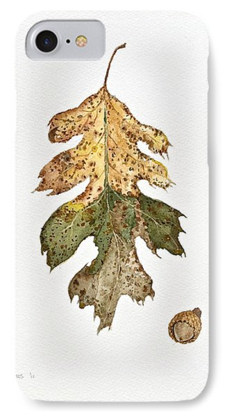 IPhone Case featuring the painting Oak Study by Michele Myers