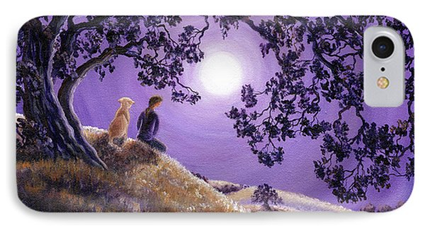 Oak Tree Meditation Phone Case by Laura Iverson
