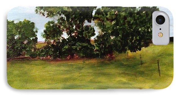 Oak Trees Phone Case by Andrea Friedell