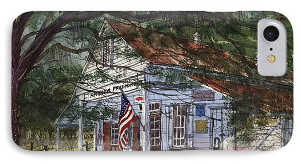 IPhone Case featuring the painting Oakland Plantation Store by Tim Oliver