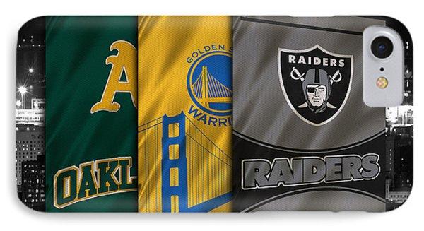 Oakland Sports Teams IPhone Case by Joe Hamilton