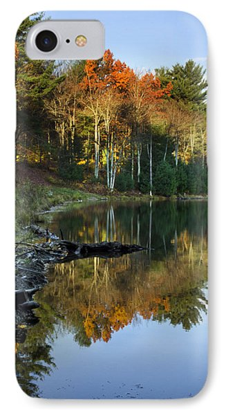 IPhone Case featuring the photograph Oakley Corners State Forest by Christina Rollo