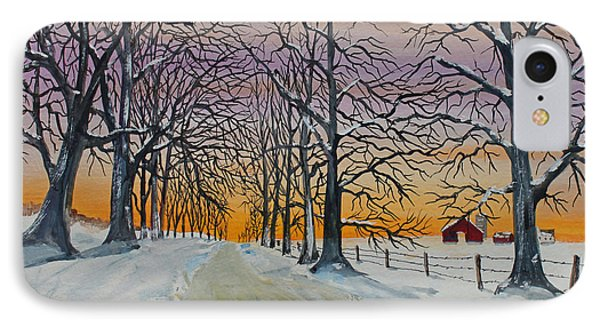 Oakridge Sunset IPhone Case by Jack G  Brauer