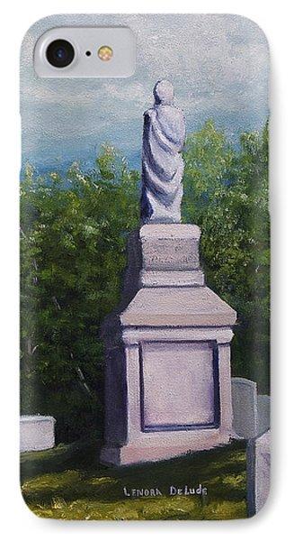 Oakwood Cemetery Jefferson Texas Phone Case by Lenora  De Lude