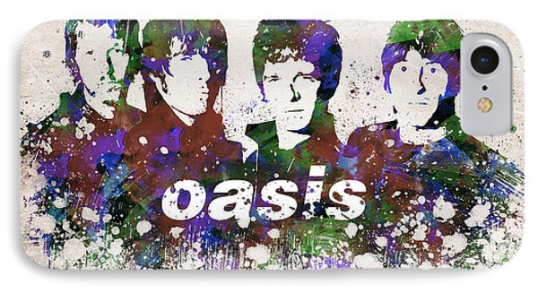Oasis Portrait IPhone Case by Aged Pixel