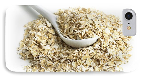 Oats And A Spoon IPhone Case by Science Photo Library