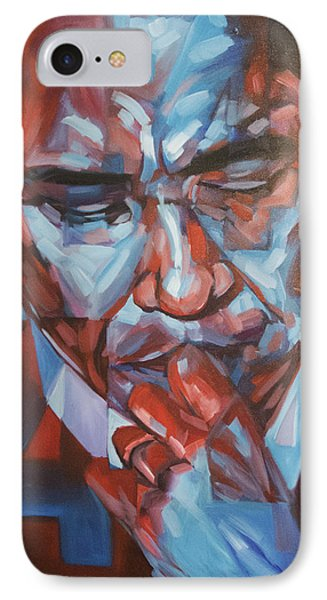 Obama 44 Phone Case by Steve Hunter