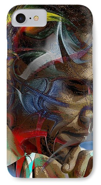 Obama Abstract IPhone Case by Terry Boykin