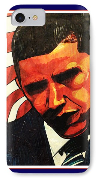 Obama IPhone Case by Boze Riley