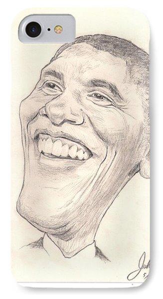 Obama Caricature IPhone Case