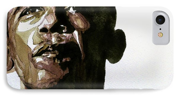 Obama Hope IPhone Case by Paul Lovering