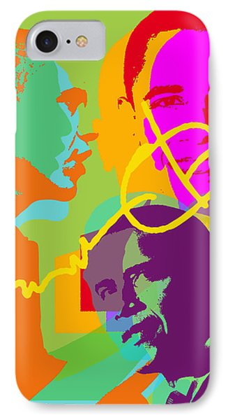 Obama IPhone Case by Jean luc Comperat