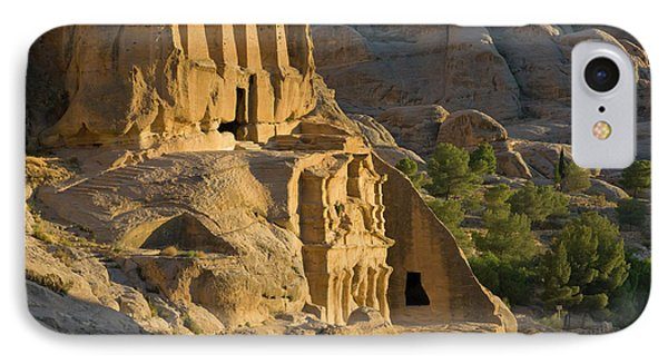 Obelisks Tomb, Petra, Jordan (unesco IPhone Case by Keren Su
