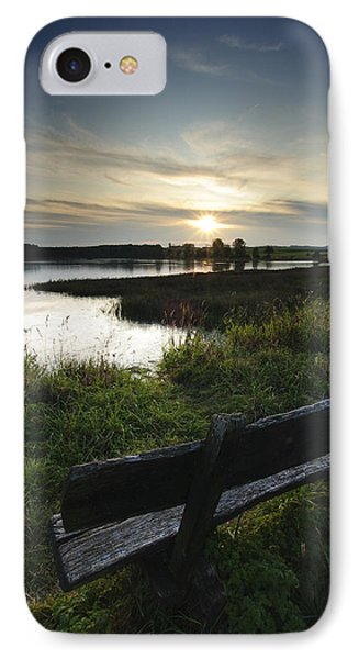 Obermooser Teich No 1 IPhone Case by Andy-Kim Moeller