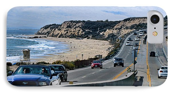 Oc On Pch In Ca IPhone Case by Jennie Breeze