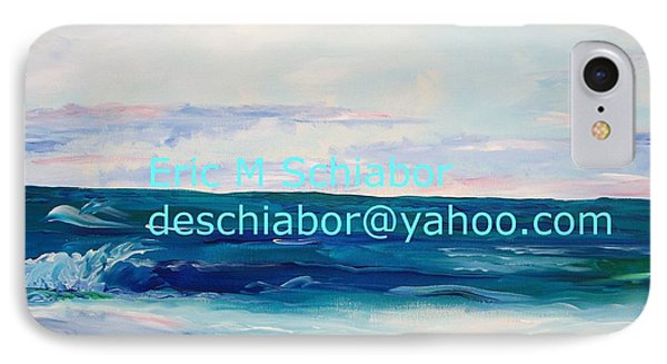 IPhone Case featuring the painting Ocean Assateague Virginia by Eric  Schiabor
