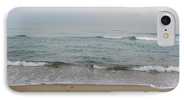 Ocean At Buxton Nc IPhone Case by Cathy Lindsey