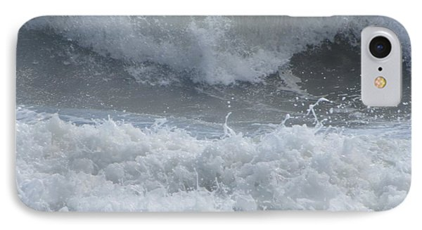 Ocean At Kill Devil Hills IPhone Case by Cathy Lindsey