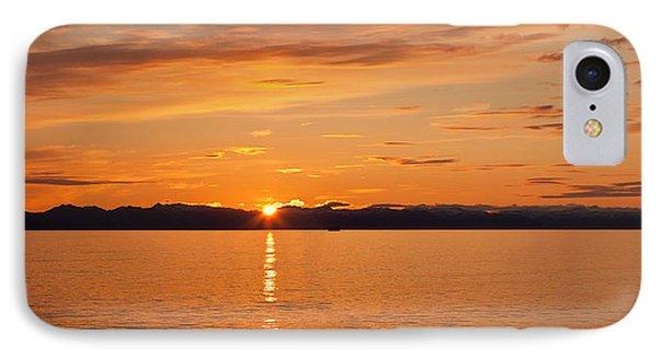 Ocean At Sunset, Inside Passage IPhone Case