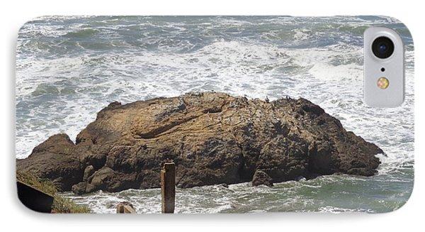 IPhone Case featuring the pyrography Ocean Beach 2 by Hiroko Sakai