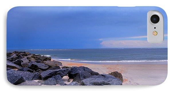 Ocean Beach Rocks IPhone Case