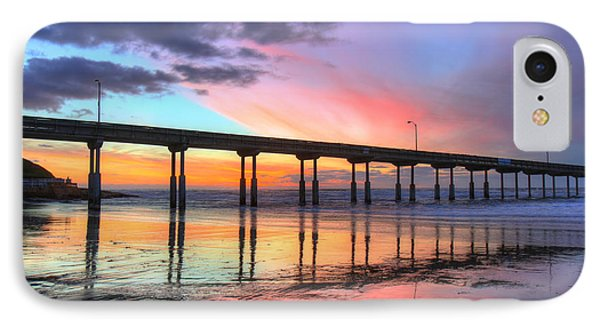 Ocean Beach Sunset IPhone Case by Nathan Rupert