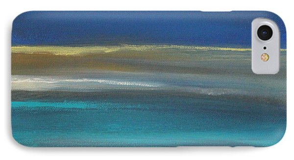 Ocean Blue 2 IPhone Case by Linda Woods