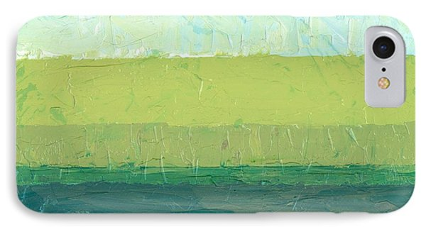Ocean Blue And Green Phone Case by Michelle Calkins