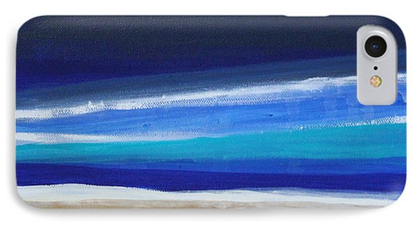 Ocean Blue IPhone Case by Linda Woods
