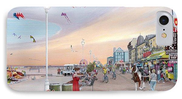 Ocean City Maryland IPhone Case by Albert Puskaric