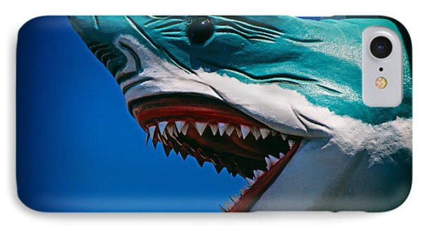 Ocean City Shark Attack IPhone Case by Bill Swartwout