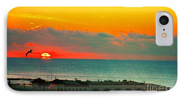 Ocean City Sunrise Over Music Pier IPhone Case