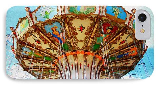Ocean City Swing Carousel IPhone Case